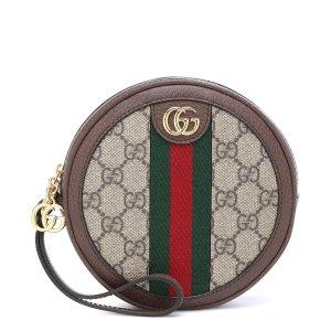 Gucci老花钱包