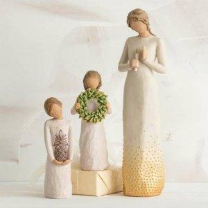 6折起 送礼真的很诚心 心中净草WILLOW TREE 北欧风格自然清新小雕塑热卖  还你一个小北欧