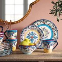 Euro Ceramica 餐具16件套