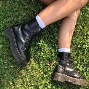 8.5折+无门槛免邮+包退最后一天:Dr.Martens 马丁靴 $170收迪丽热巴经典马丁靴