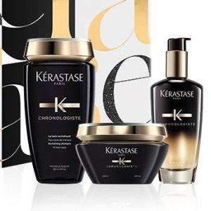 低至7.5折Kerastase 卡诗洗护发产品热卖 收超值套装、黑鱼子酱系列