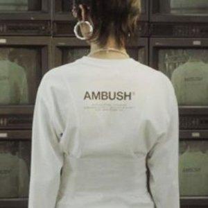 3.5折起 男女都可穿Ambush 潮牌服饰 $149收 logo 高领上衣 $210收火机项链