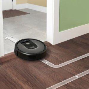 $499.99 (原价$799)史低价:iRobot Roomba 960 扫地机   智能清洁不费力