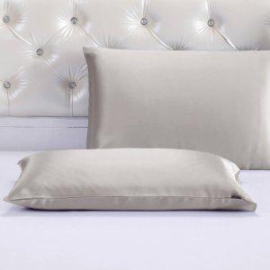 每滿$100減$1510色 Terse 真絲枕套