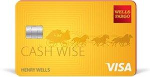 Earn a $200 cash rewards bonusWells Fargo Cash Wise Visa® Card