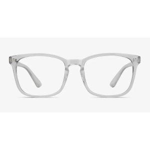 EyeBuyDirectGucci Trabsparent 平替透明方框镜架