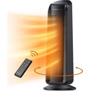 TaoTronics 1500瓦速热陶瓷加热暖风机