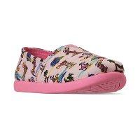 Skechers 女小童平底鞋