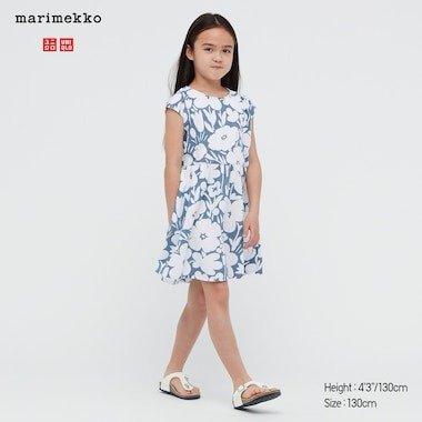 MARIMEKKO 系列 女童印花连身裙
