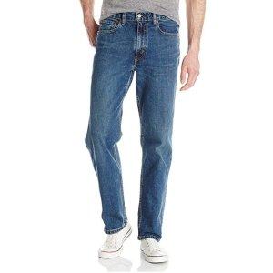 $35.7 宽松版型不怕勒Levi's 男士 550 直筒牛仔裤热卖