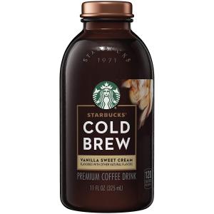 Starbucks 香草奶油口味冷萃咖啡 11oz 6瓶