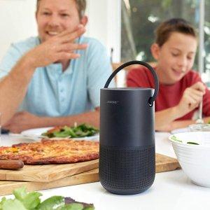 $399(原价$449)Bose Portable Home蓝牙音箱 黑银两色 支持Alexa