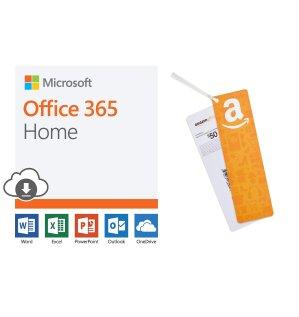 $99.99 (原价$149.99)Microsoft Office 365 Home 12个月/6用户 + $50礼卡