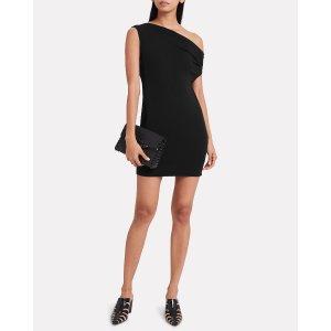Enza CostaOne-Shoulder Jersey Dress