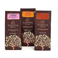 Godiva 经典混合咖啡 10 oz. 袋装 共3袋