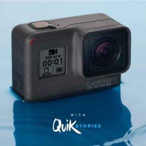 $252(原价$299)高清水下拍摄GoPro Hero 7 运动相机 4K高清防抖 白色款
