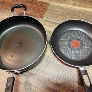 比铸铁锅更实用的是不粘锅,还可以做蛋糕哟