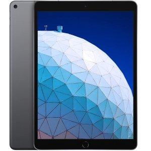 $599(原价$779) 最新顶配版黑五价:Apple iPad Air (10.5吋, Wi-Fi + 蜂窝, 256GB) 深空灰