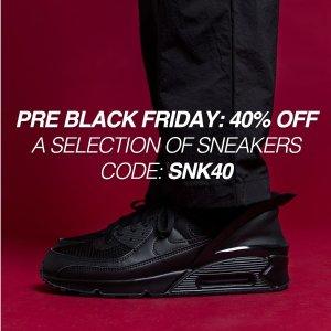 6折 offwhite x Nike仅€115黑五价:Luisaviaroma 球鞋Sneaker专场超低价