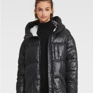 额外7折 长款保暖外套38DKNY 秋冬外套上新 双面羊绒大衣$90,男士卡其风衣$48