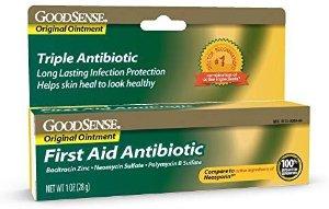 $2.34 凑单品GoodSense 急救抗生素软膏 28g