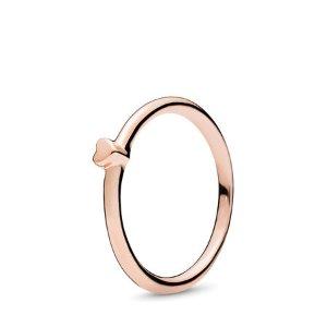 Puzzle Heart Ring, PANDORA Rose™
