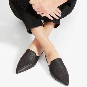 Everlane尖头穆勒鞋
