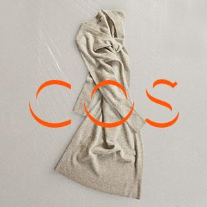 折扣区低至5折+额外8.5折折扣升级:COS 精选美衣配饰大促 冷淡极简风