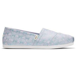 Toms贝壳渔夫鞋
