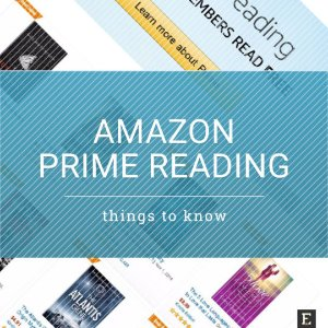 免费拿$3 Amazon CreditAmazon Prime Reading 借书福利