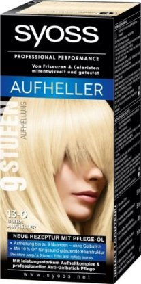 Syoss Schwarzkopf Syoss Lighteners Hair Color/Dye - 3 Shades to choose