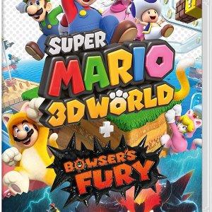 实体版€48.9 低于官网定价《超级马里奥3D世界+库巴之怒》Switch 新款游戏发售