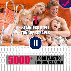 $8.97 (原价$14.99)Cbiumpro 舌苔清洁刷 清洁98%口气 除口臭神器 必备单品
