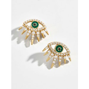BaubleBarTali 18k Gold Vermeil Stud Earrings