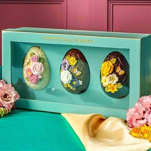 低至2折 兔子巧克力£12Fortnum & Mason 季中热促 多款巧克力、复活节礼盒罕见折扣