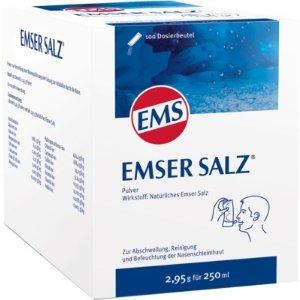 针对上呼吸道感染、鼻窦炎天然洗鼻盐 2,95gx100