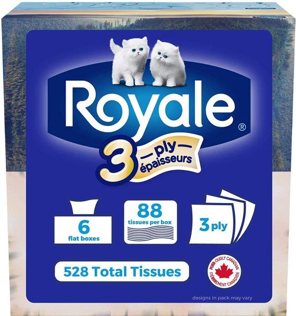 Royale Original 柔滑2层面巾纸/抽纸