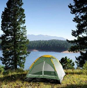 $13.68Happy Camper 双人户外露营帐篷 绿色款