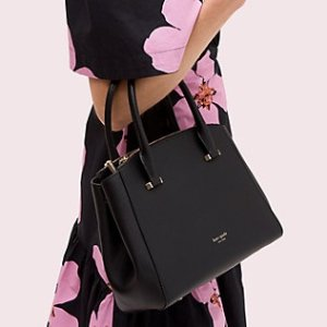$129Ending Soon: Kate Spade Sydney Small Double-Zip Satchel on Sale