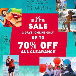 Up To 70% OffHollister All Clearance Items