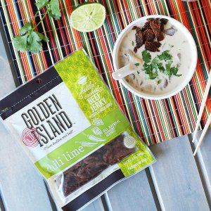 $3.85Golden Island Chili Lime Beef Jerky, 3 oz.