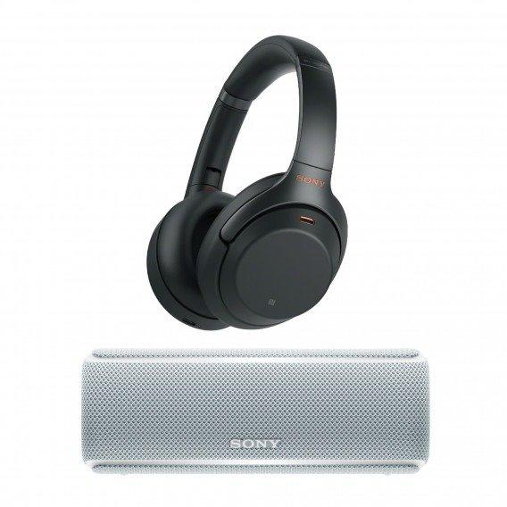 WH-1000XM3 降噪耳机+白色音箱套装
