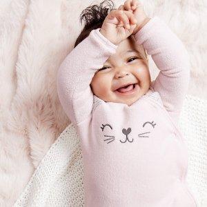包臀衫5折+包邮Carter's官网  新生宝宝系列热卖,新生儿所需一站式购齐