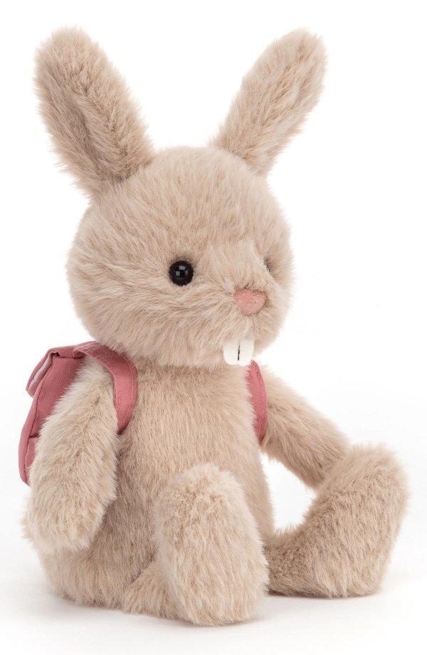 背书包的龅牙兔公仔