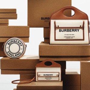 9折+包所有税费闪购:Burberry 新款热卖 $288到手价收经典logo卡包