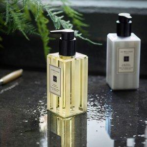 送鼠尾草9ml+青柠罗勒9mlJo Malone 沐浴洗护专场 颜值与仪式感并存,get高级体香