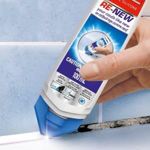 全网最低 $8.99收100ml白胶补货:LePage 浴室美缝胶 防水防霉快速美缝 专业密封胶
