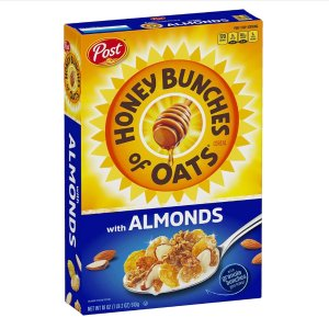 $2.68Post Honey Bunches of Oats with Crispy Almonds 18oz