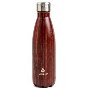 标价为额外7.5折价格Core Home - 17oz木纹不锈钢保温水杯