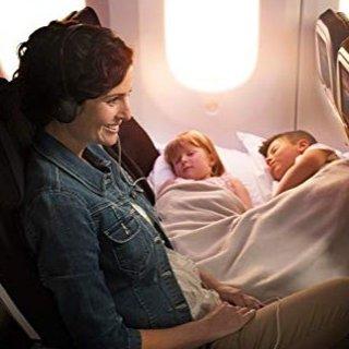 $24.64(原价$28.99)闪购:充气旅行脚踏枕,儿童飞机床2个装,长途旅行神器